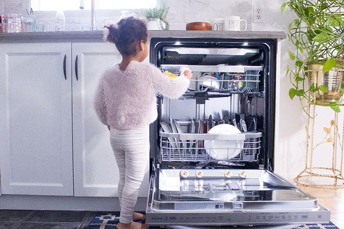 بوی بد ماشین ظرفشویی ال جی
