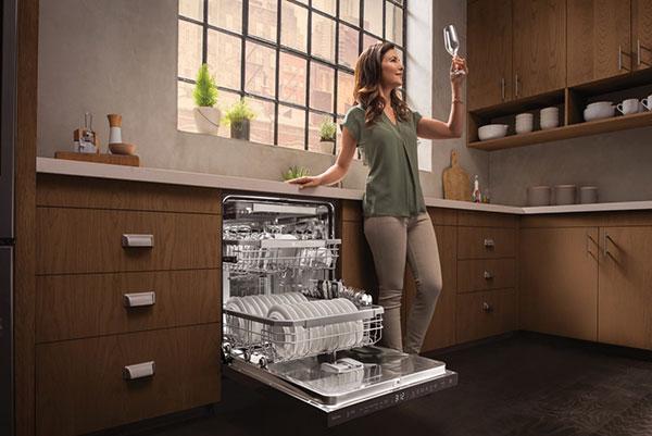 بوزدایی ماشین ظرفشویی