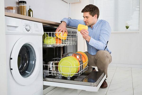 رفع بوی ماشین ظرفشویی